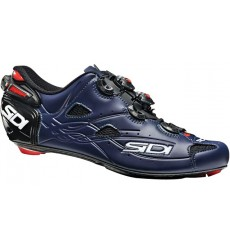 SIDI Shot black / mat blue Carbon road cycling shoes 2020