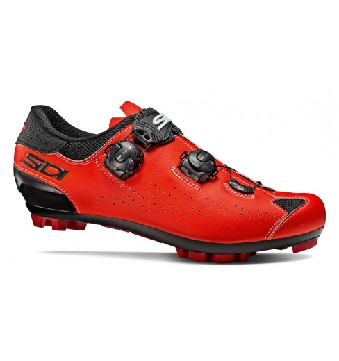 SIDI Eagle 10 black red fluo MTB Shoes 2020