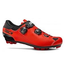 Chaussures VTT SIDI Eagle 10 noir rouge fluo 2020
