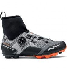 NORTHWAVE Raptor GTX orange/grey winter MTB shoes 2020