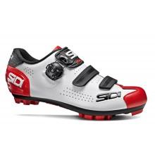Chaussures VTT homme SIDI TRACE 2 blanc noir rouge 2020