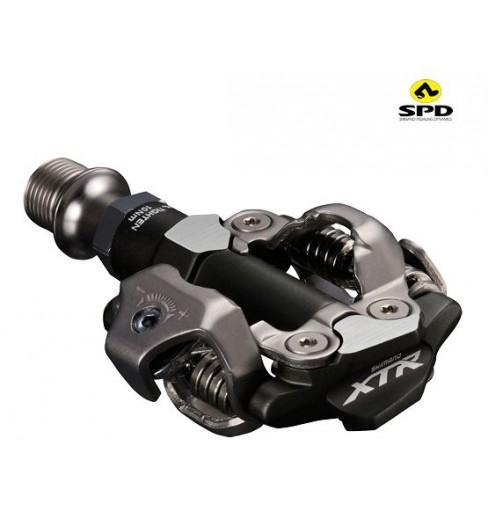 SHIMANO paire de pédales VTT XTR SPD-M9100 AXE COURT
