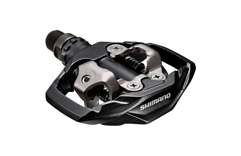 Shimano PD-M530 MTB//Trail Pedal IN Black or White Clip-In