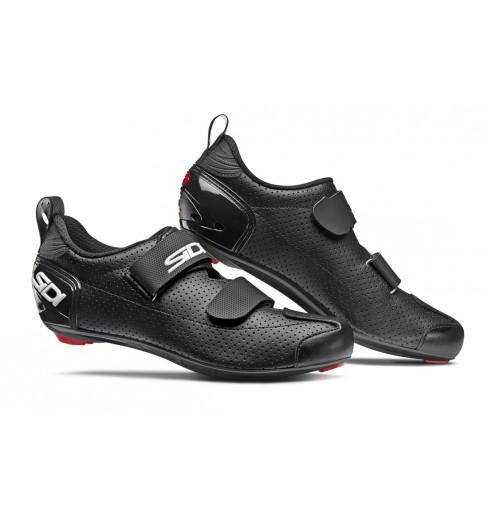 SIDI men's T5 Carbon Air black Triathlon shoes 2020