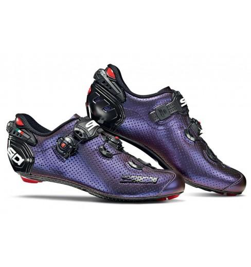 Chaussures vélo route SIDI WIRE 2 Carbon AIR bleu iridescent 2020 - Edition limitée