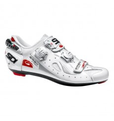 SIDI Ergo 4 Mega Carbon Composite white road shoes