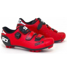 SIDI Trace red men's MTB shoes
