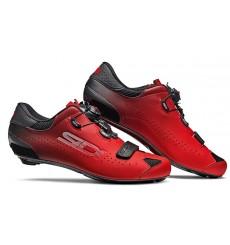 Chaussures vélo route SIDI Sixty noir rouge 2021 - Edition limitée