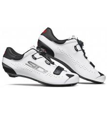 Chaussures vélo route SIDI Sixty noir blanc 2020 - Edition limitée