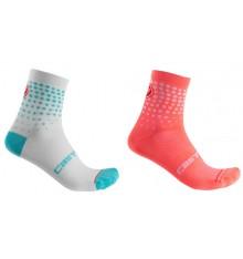 CASTELLI Puntini women's cycling socks
