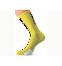 ASSOS Socquettes Intermediate S7 jaune