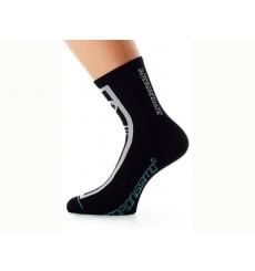 ASSOS Socquettes Intermediate noires