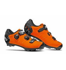 SIDI Dragon 5 SRS Carbon matt orange black MTB shoes