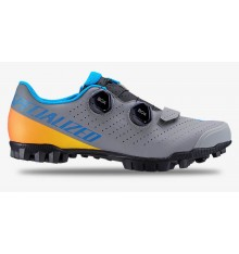 SPECIALIZED Recon grey yellow 3.0 MTB shoes 2020