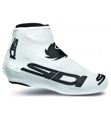 SIDI white lycra cover shoes