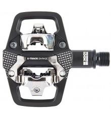 LOOK X-Track en RAGE pedals
