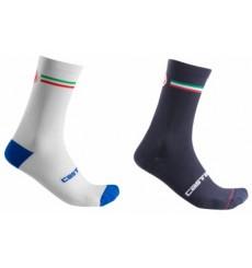 CASTELLI chaussettes vélo Italia 15