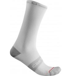 CASTELLI chaussettes vélo été Superleggera 18 Blanc 2021