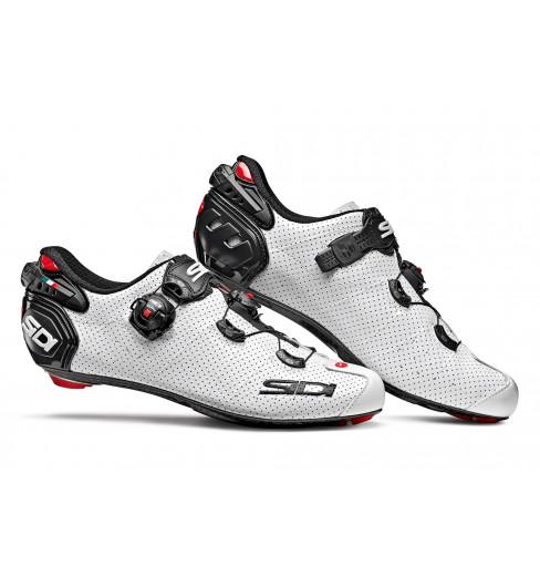 Chaussures vélo route SIDI WIRE 2 Carbon AIR Blanche / Noire 2020
