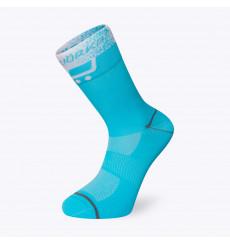 BJORKA TEAM 2021 Turquoise blue summer cycling socks