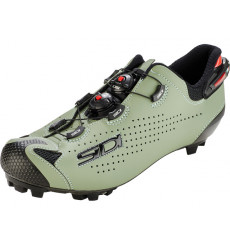 SIDI Tiger 2 carbon black sage mountain bike shoes