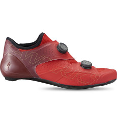 SPECIALIZED S-Works ARES Flo red maroon road cycling shoes