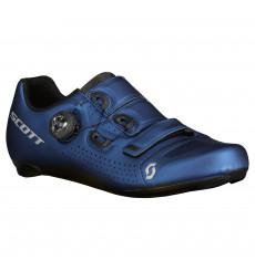 SCOTT Road Team Boa metallic blue road shoes 2022