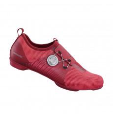 SHIMANO IC500 red women's spinning bike shoes 2020