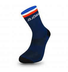 BJORKA FRANCE Midnight Blue cycling socks