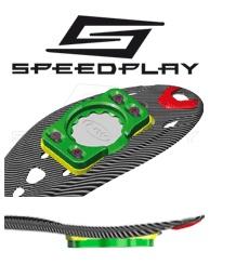 NORTHWAVE adaptateurs Speedplay