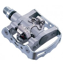 Shimano MTB PD M324 silver pedals
