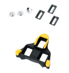 Shimano SPD SM-SH11 yellow cleat set