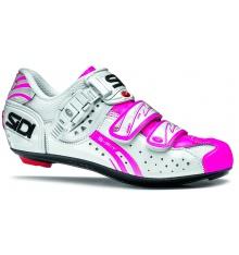 SIDI chaussures femme Genius 5 Fit blanc rose fluo 2015