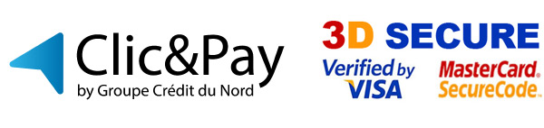 Paiement Clic & Pay 3D secure